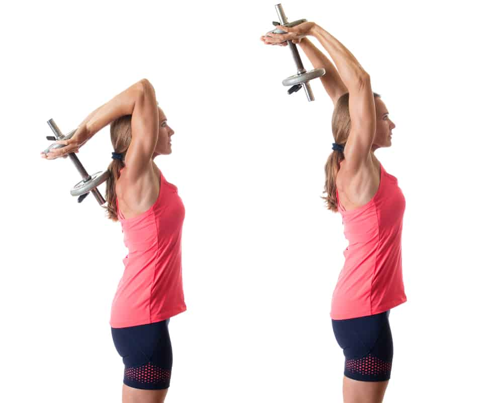 tricep extension exercise