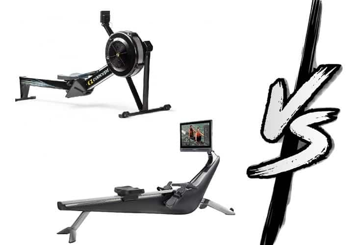 hydrow vs concept 2 rowers